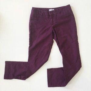 Calvin Klein Plum Chino Pants
